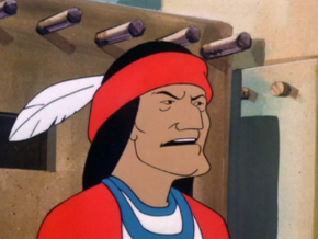 Indian chief (The Quagmire Quake Caper)