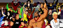 WWE and Scooby-Doo
