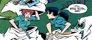Annie and Miri unmasked