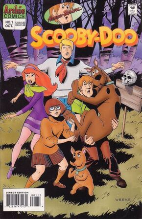 Scooby-Doo issue 1 (Archie Comics) cover