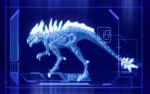 Fiery Phantosaur CGI