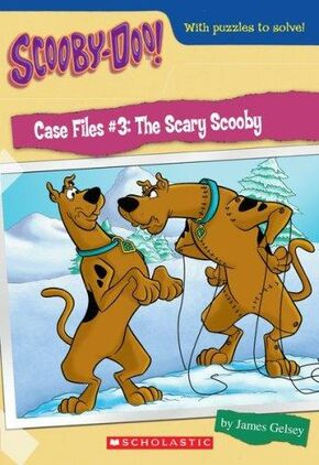 Scary scooby book