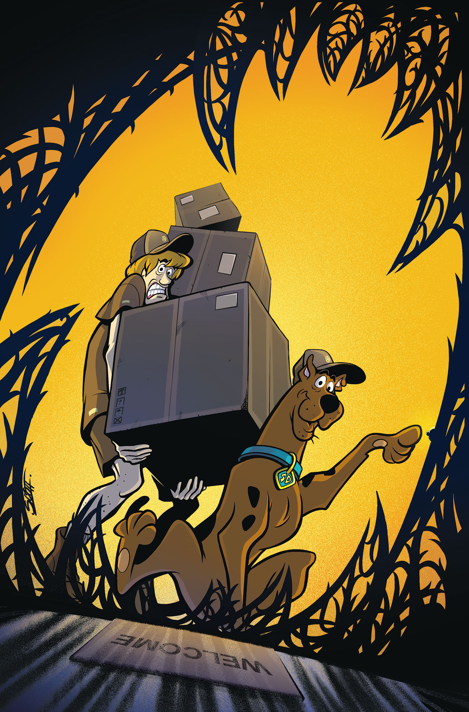 Image - WAY 40 (DC Comics) textless front cover.jpg   Scoobypedia ...
