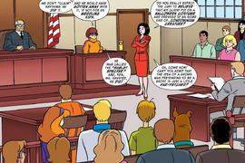 Velma at court