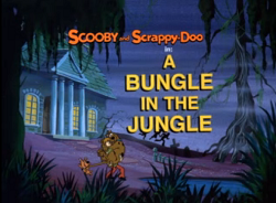 A Bungle In The Jungle title card
