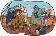 Scooby-Doo Mysteries 27 - Scooby-Doo and the Deep-Sea Diver page 32 detail-1-