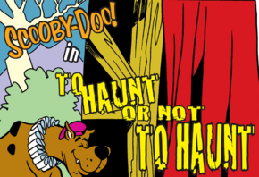 To Haunt Or Not to Haunt title card