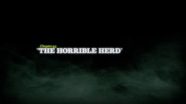 The Horrible Herd title card