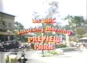 ABC Saturday Morning Preview Park title card