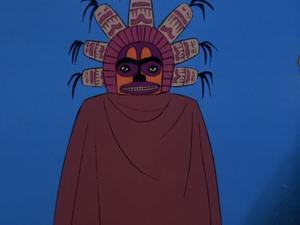 Indian effigy