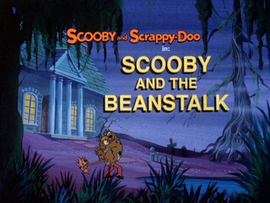 Scooby and the Beanstalk Title Card