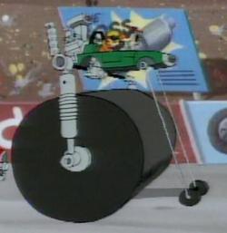 Steam-Powered Grease-Grinder