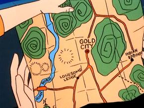 Ghost towns map (MYOB)