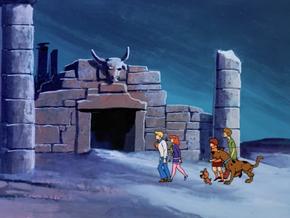 Minotaur's temple