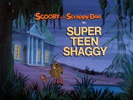 Super Teen Shaggy Title Card