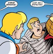 Steve Banning unmasked