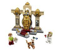 LEGO Mummy Museum Mystery set