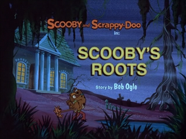 Scooby Roots Title Card