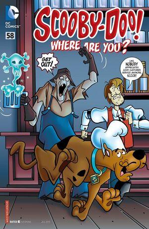 WAY 58 (DC Comics) front cover