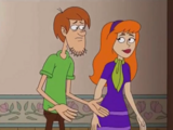 Shaggy Rogers and Daphne Blake (Be Cool, Scooby-Doo!)