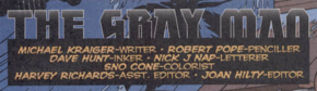 The Gray Man title card