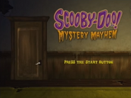 Mystery Mayhem menu (PS2)