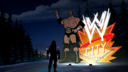 WWE City welcome sign