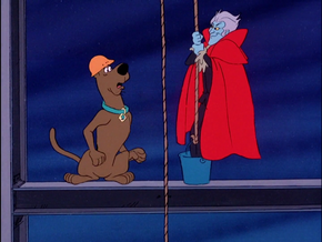 Scoob meets Specter of Ebenezer Crabbe