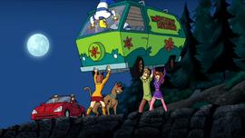 Evil gang picks up van