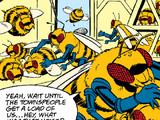 Giant bees (Bee Ball!)