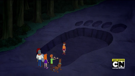 Huge McFinn's footprint