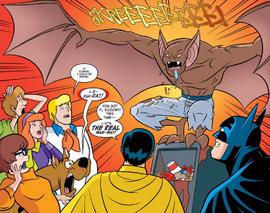 Gang and co find Man-Bat