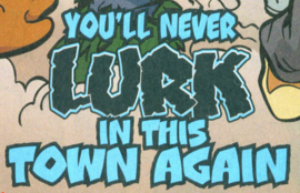 You'll Never Lurk in This Town Again title card