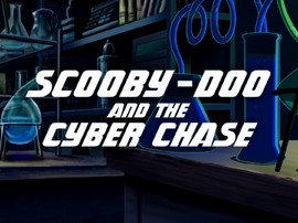 Cyber Chase film title card