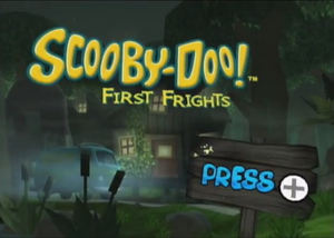 Scooby-Doo! First Frights title card