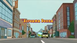 Screama Donna title card
