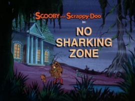 No Sharking Zone title card