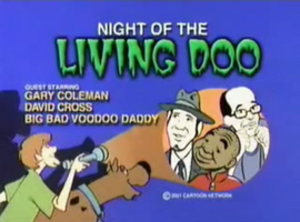 Night of the Living Doo title card