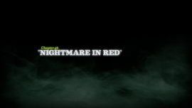 Nightmare in Red title card