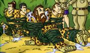 Archaeologists unmasked (Jungle Jeopardy)