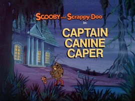Captain Canine Caper Title Card