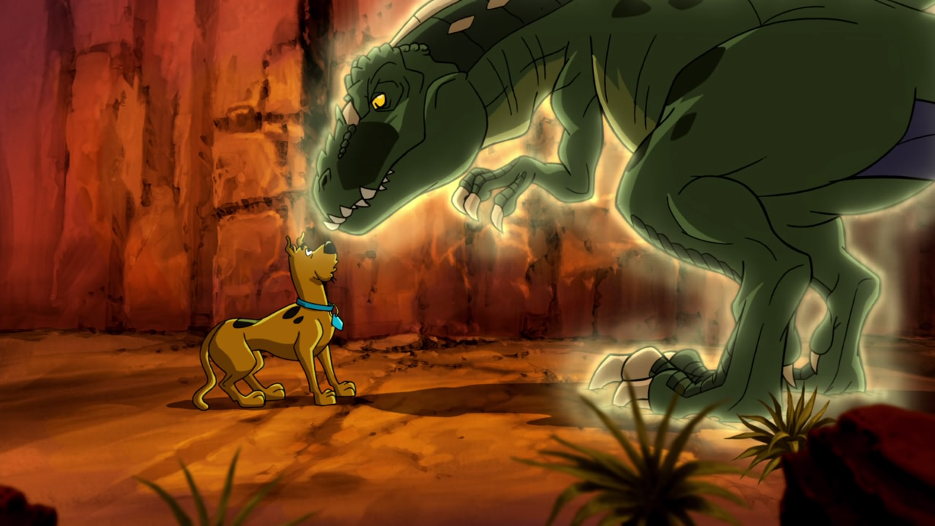 scooby doo phantosaur shaggy