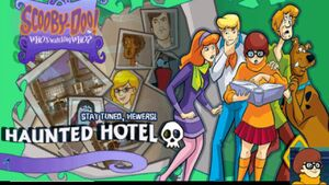 Haunted Hotel title card