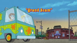 Grand Scam title card
