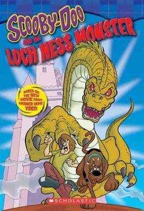 Loch Ness Monster novel cover