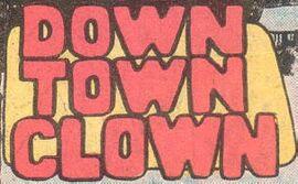 Down Town Clown title card