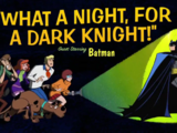 What a Night, for a Dark Knight!