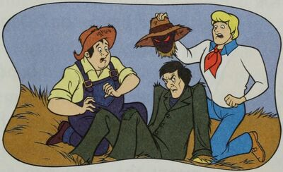 Dusty unmasked (Scooby-Doo! and the Farmyard Fright)