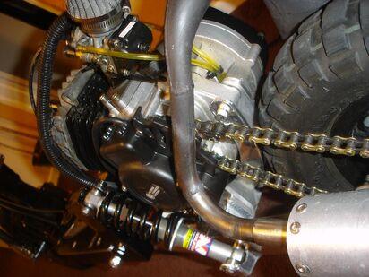Big Boy V6 transmission