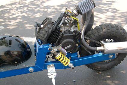 Big Boy V6 rear suspension
